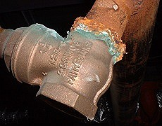 how to repair pipe corrosion