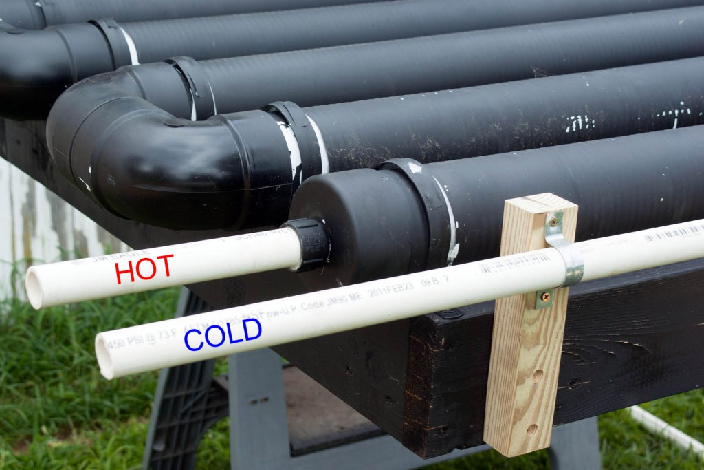 PVC piping for industrial use and DIY projects